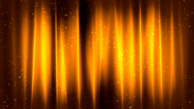 Elegant Curtains Gold Loopable Background video