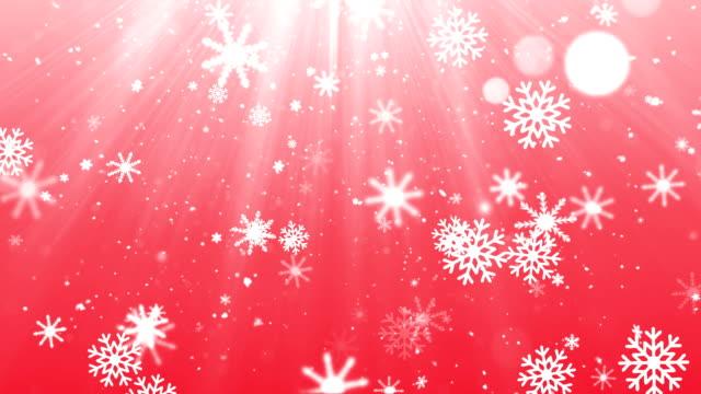 Elegante Copos de nieve 1 - vídeo