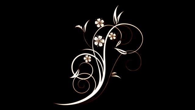Elegant Vintage Decorative Flourish video