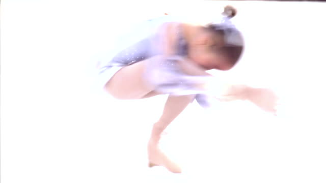 element of figure skating - young singles stock videos and b-roll footage