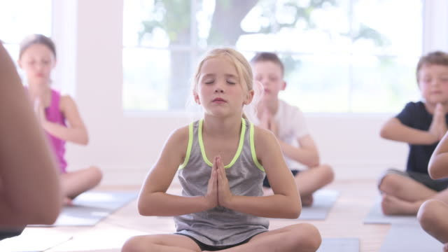 Best Kids Yoga Stock Videos and Royalty-Free Footage - iStock