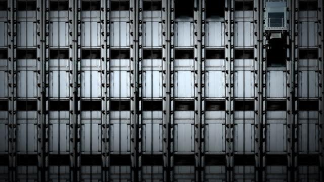 Aufzug Fassade des Gebäudes – Video