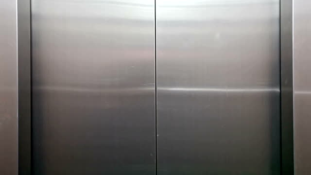 elevator open to Green Screen video