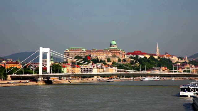 Elisabeth Bridge, Budapest, Hungary video