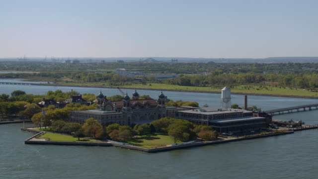 Ellis Island and Statue of Liberty video