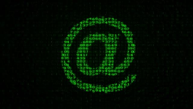 e-mail - Digital Data Code Matrix
