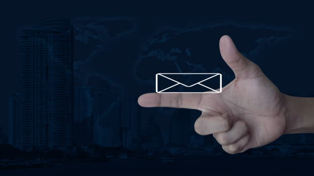 email flat icon, business contact us concept, elements of this image furnished by nasa - e mail filmów i materiałów b-roll