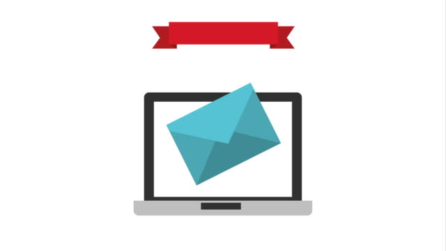 Email icon design, Video Animation video