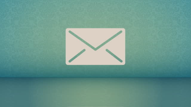Email 2d animation of new mail icons. email icon stock videos & royalty-free footage
