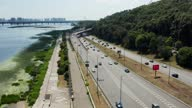 istock Embankment highway in Kyiv. 1340475693