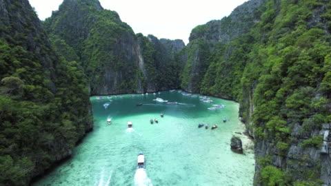 Emerald island perfect crystal clear island,emerald thailand stock videos & royalty-free footage