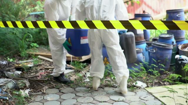 Emergency Biohazard Leak