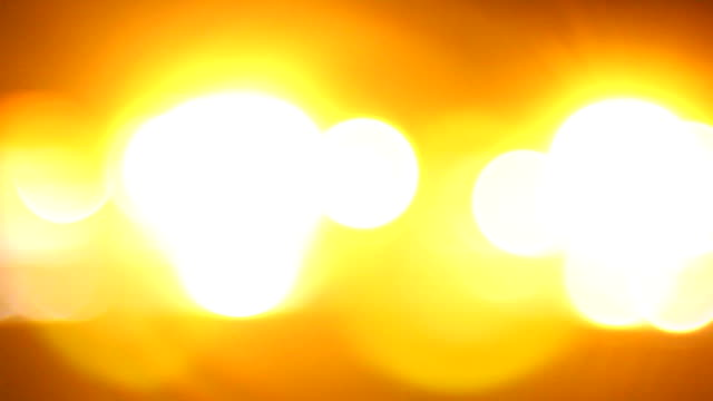 Emergency lights video