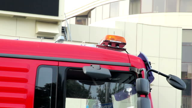 Emergency orange lights on top of truck car, road service Emergency orange lights on top of truck car, road service medevac stock videos & royalty-free footage