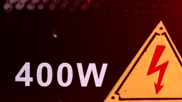 vídeos y material grabado en eventos de stock de situación de emergencia - descarga eléctrica