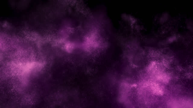 Emerging Particle Cloud (Purple)