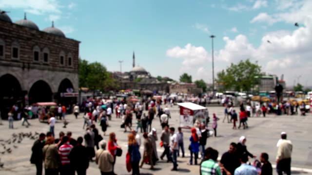 di eminonu istanbul - grand bazaar video stock e b–roll