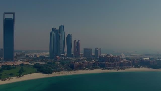 emirates, abu dhabi, birleşik arap emirlikleri - abu dhabi stok videoları ve detay görüntü çekimi