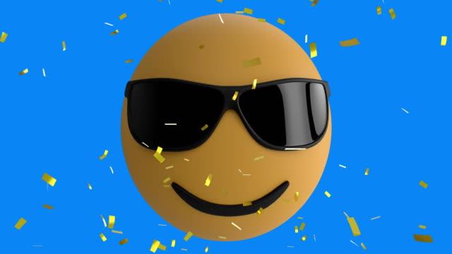 emoji icon 4k - emoji video stock e b–roll