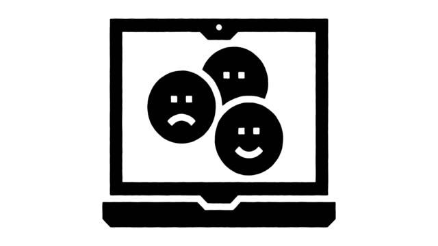 Emoji Language Line Drawing & Ink Splatter Reveal Animation with Alpha