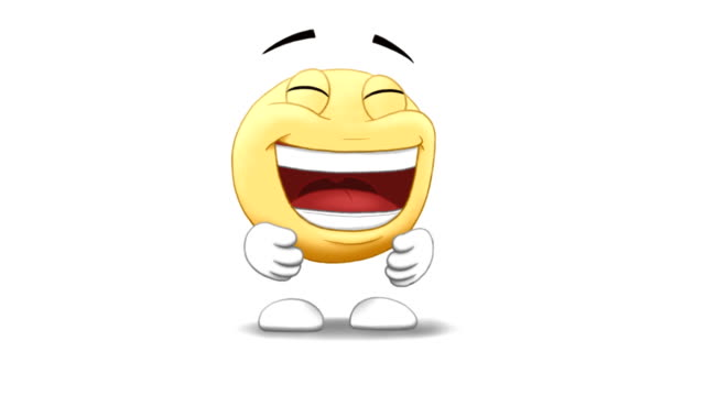 emoticon laughing video