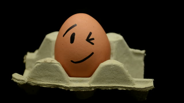 Emotion on The Egg  - Stop Motion video