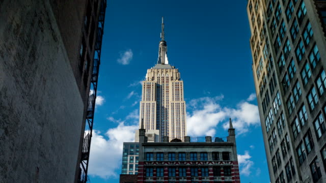 Empire State Building (slow zoom) video