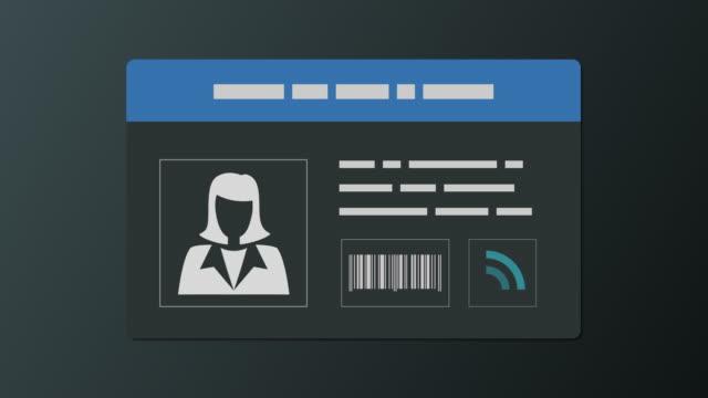employee badge and security - идентификация личности стоковые видео и кадры b-roll