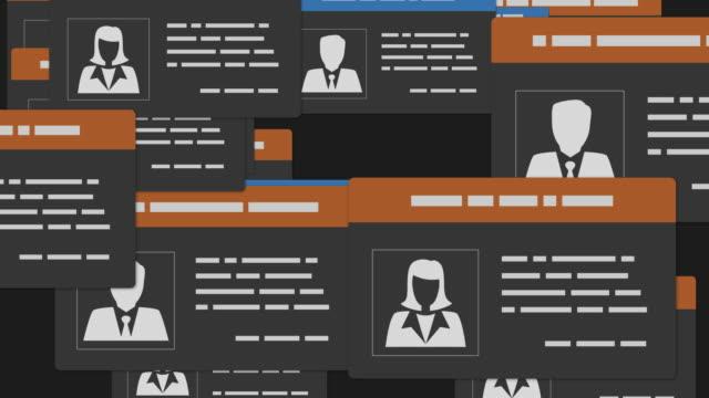 employee badges - идентификация личности стоковые видео и кадры b-roll