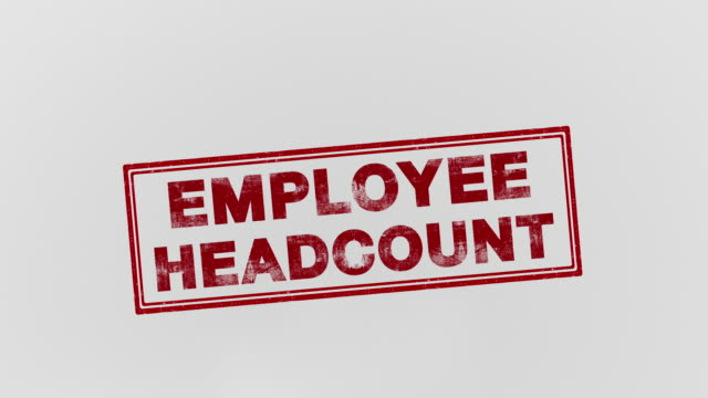 Employee headcount Employer stamping feet stock videos & royalty-free footage