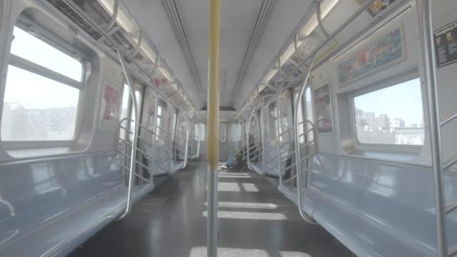 Empty Above Ground Subway Interior