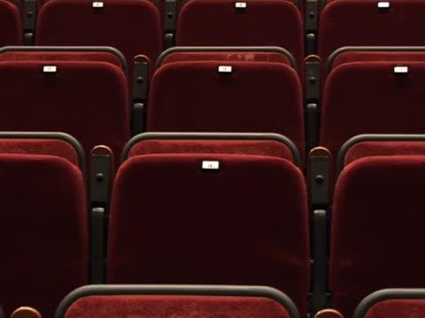 Empty Auditorium seats 3 video