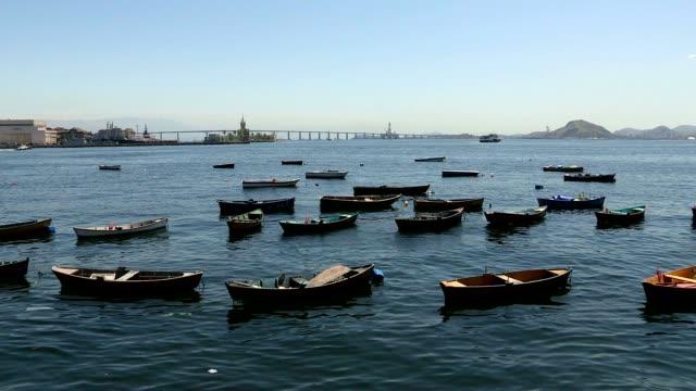 Empty boats on a coastline