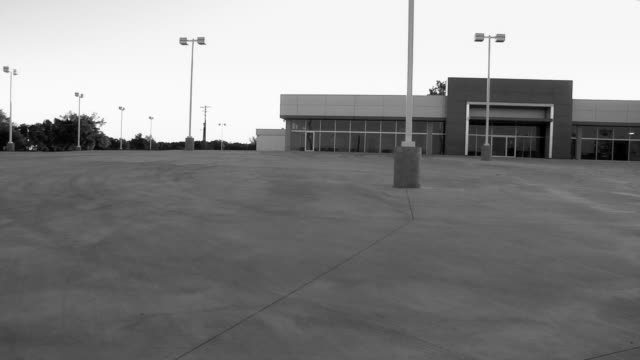 empty car dealership - bankruptcy stock videos & royalty-free footage