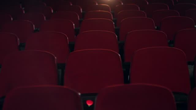 vidéos et rushes de cinéma vide - cinéma