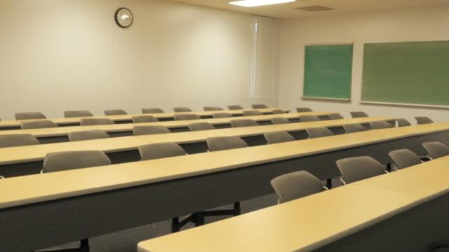Empty College Auditorium video