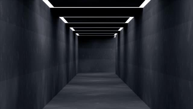 leere korridor - ewigkeit stock-videos und b-roll-filmmaterial