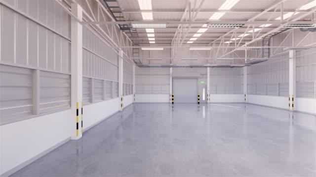 empty factory rendering