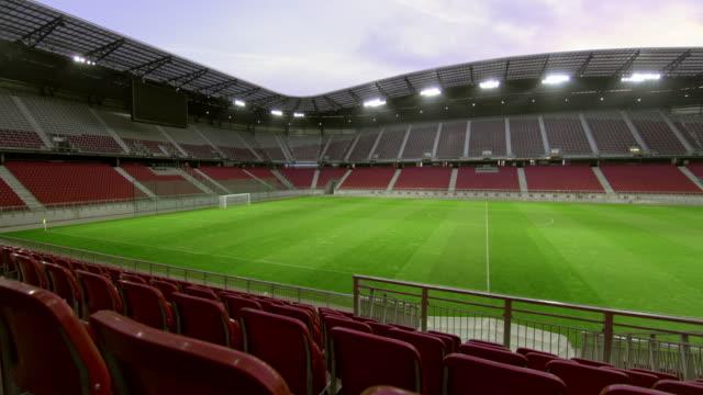 PAN Empty football stadium
