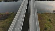 istock Empty four-lane bridge during lockdown due to quarantine 1279272956
