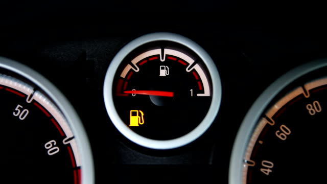 Empty fuel tank warning