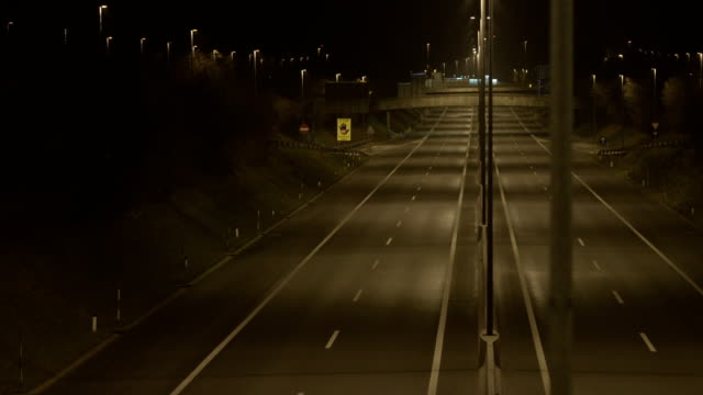 Empty Highway At Night video