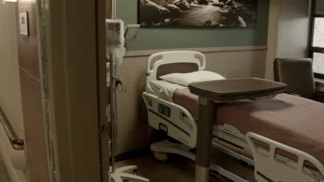 Empty Hospital Room video