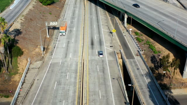 Empty Los Angeles Freeways during Coronavirus Pandemic