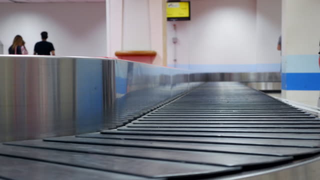 Empty Luggage belt video