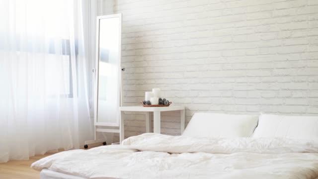 empty nobody modern bright white room