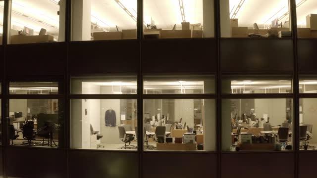 Empty Office Building Enterprise 4K