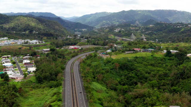 empty road empty road during quarentine puerto rico stock videos & royalty-free footage