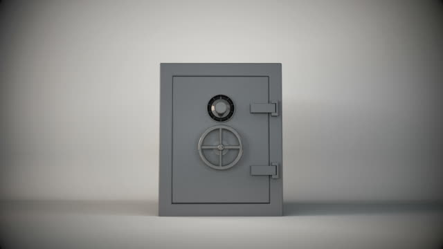 empty safe - safes and vaults stock videos & royalty-free footage