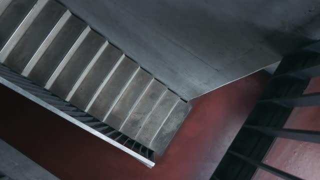 Empty Stairway Overhead